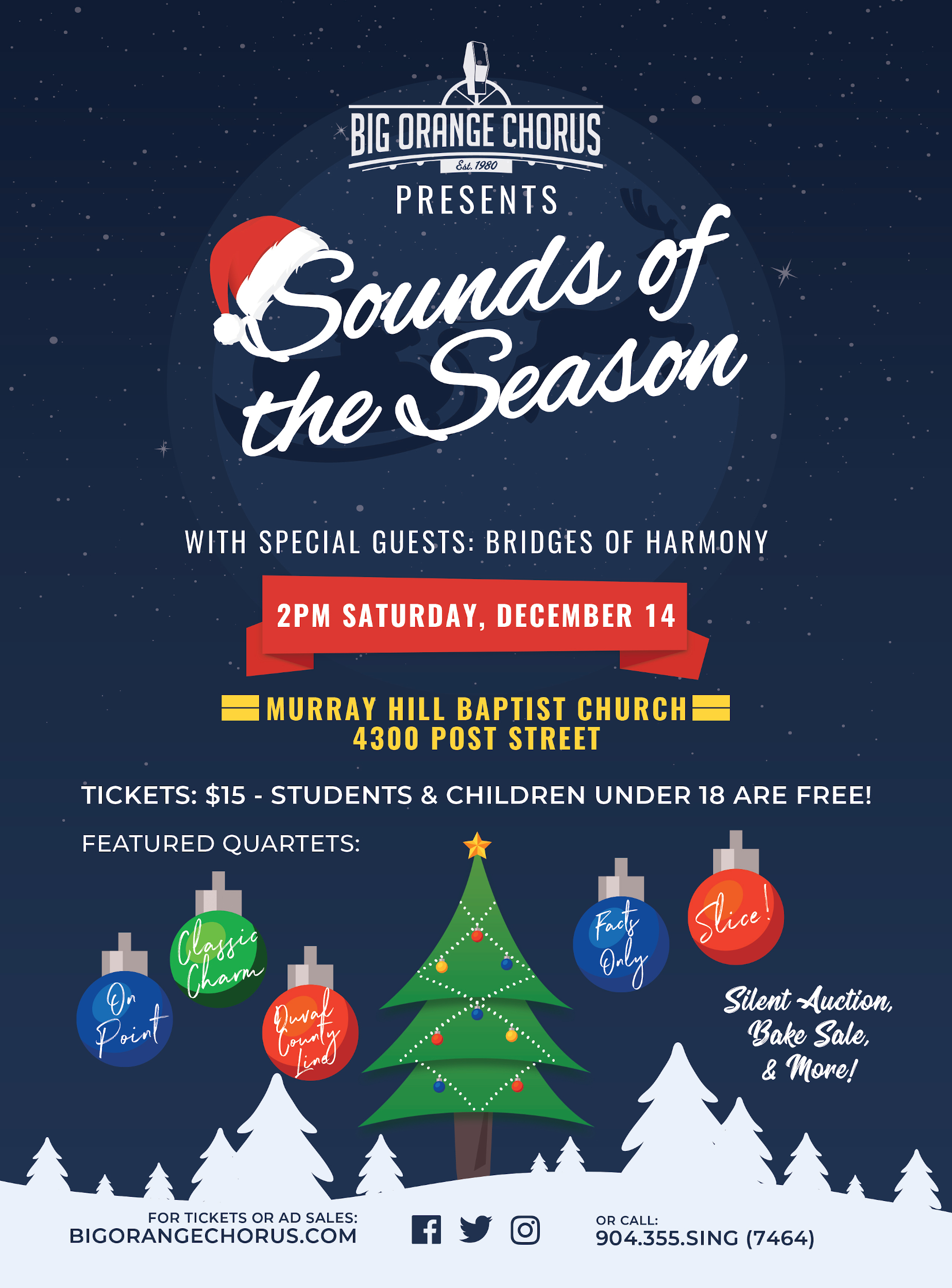 Sounds of the Season - Big Orange Chapter @ Murray Hill Baptist Church | Jacksonville | Florida | United States