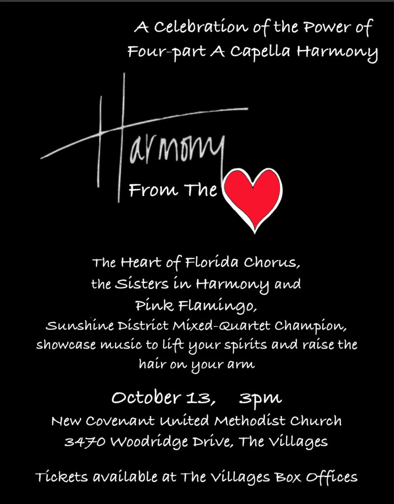 Heart of Florida - Harmony from the Heart @ New Covenant United Methodist Church | The Villages | Florida | United States