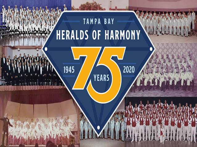 Heralds of Harmony 75th Anniversary Celebration @ USF School of Music Concert Hall